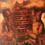 Tajemnica Wieży Babel... 130x120 / Misterie of Babel Tower...