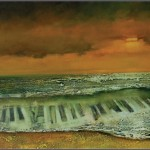 Muzyka morza... 60x120 / Music of the sea...