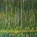 Brzozy - wiosna... 100x150 / Birch trees - spring...