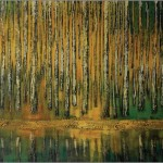 Brzozy - lato... 100x150 / Birch trees - summer...