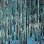 Brzozy - zima... 100x150 / Birch trees - winter...