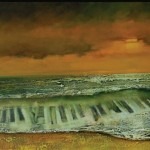 Muzyka morza... 60 x 120 Music of the sea...