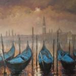 Wenecja... 70 x 80 Venice...