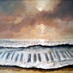 Muzyka morza... 60x104