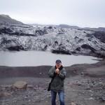 ... na Islandii, język lodowca
